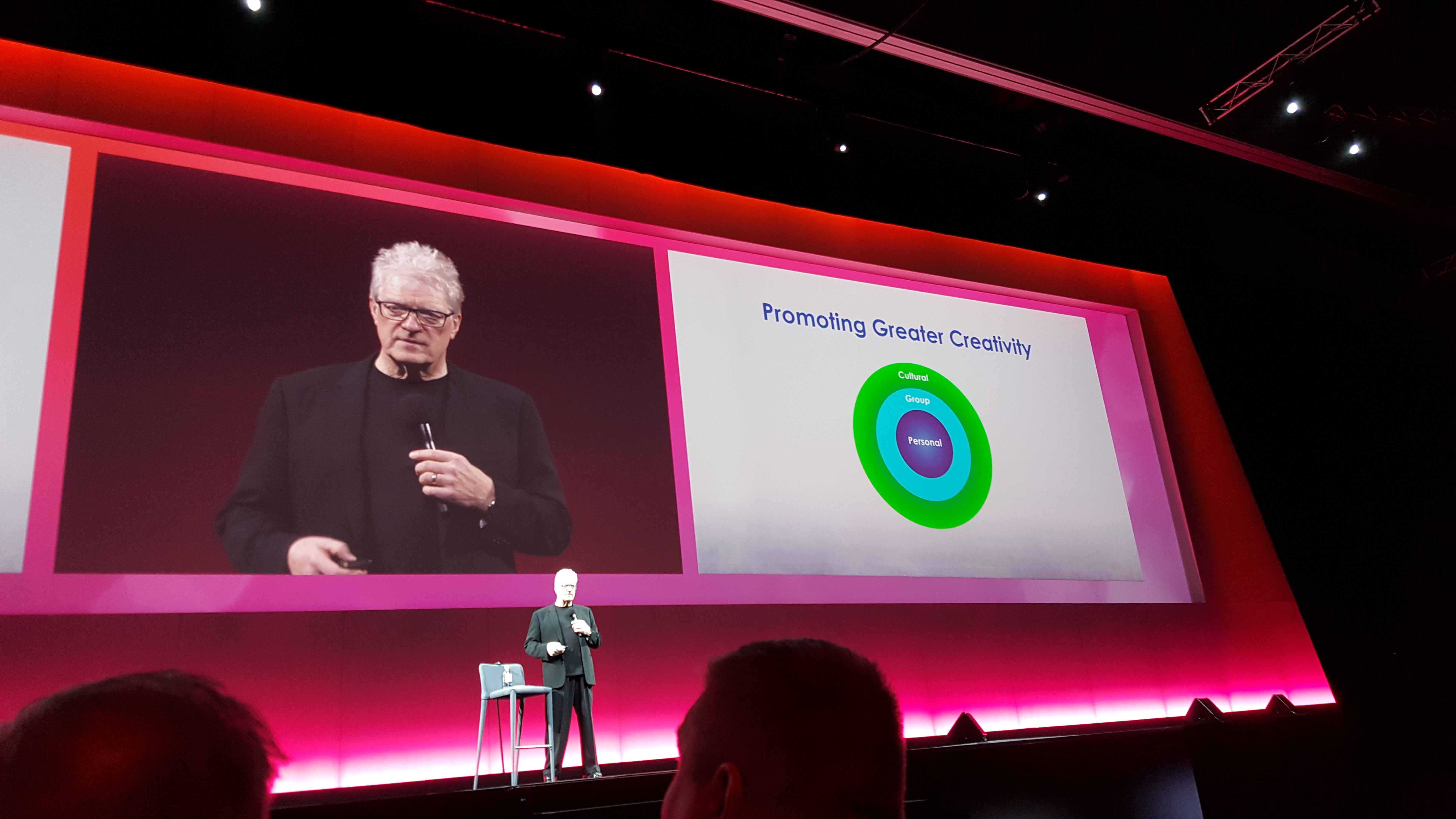 The Pulse of Innovation – Sir Ken Robinson Speaks at Vantage16