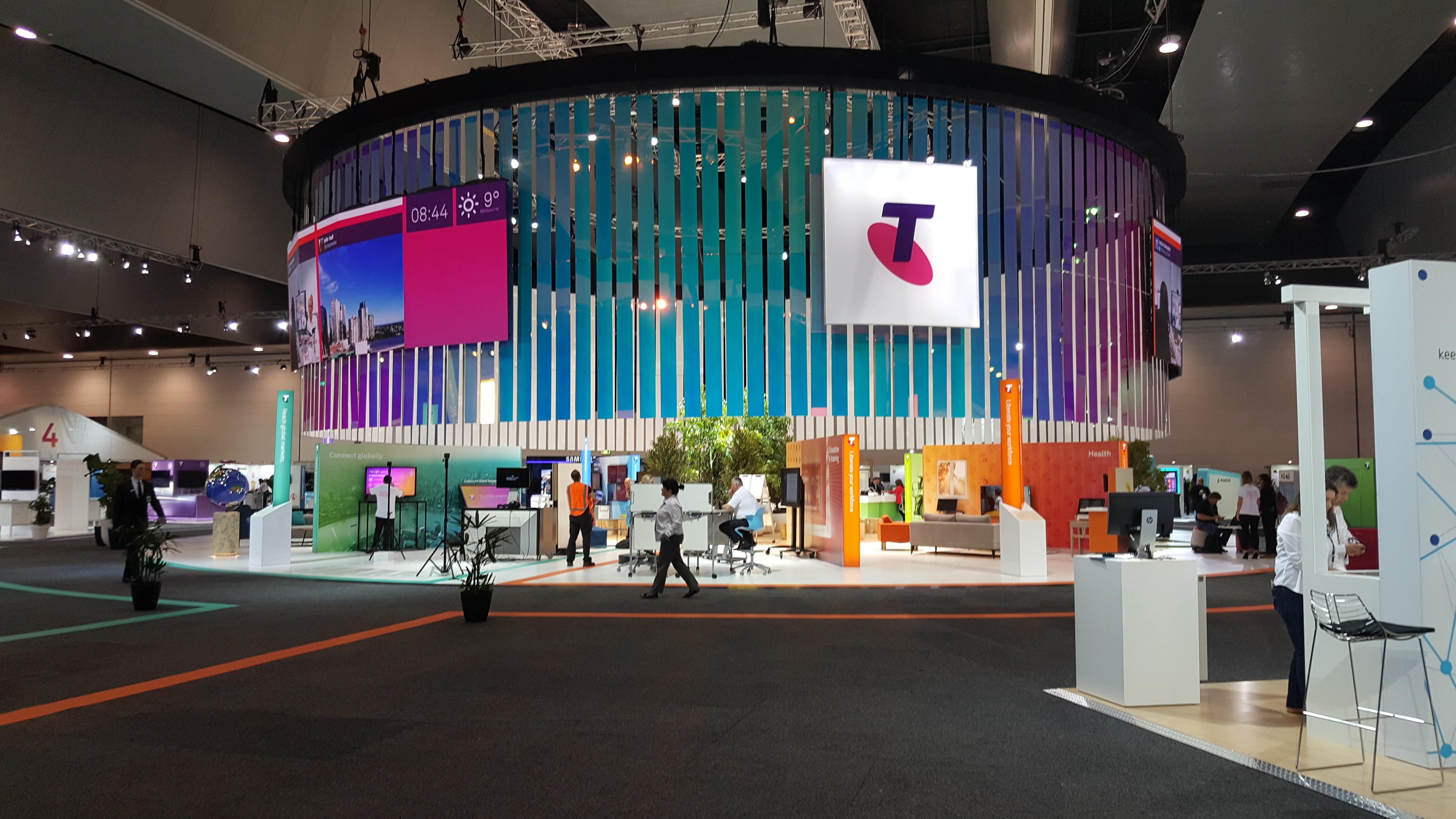 Visit Whispir at Telstra Vantage